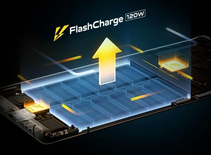 Vivo iQOO 8 Flash Charge 120 Watt