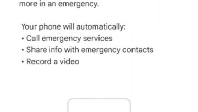 Google Pixel Notfall-Video-App