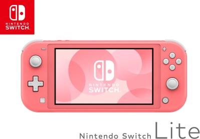 Nintendo Switch Lite koralle