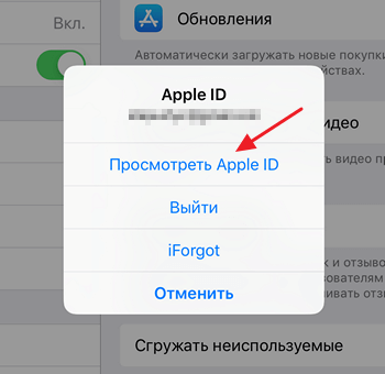 Visa Apple-id