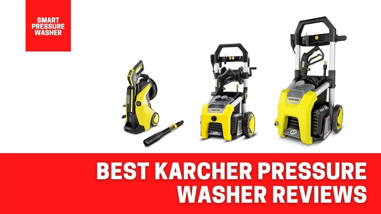 best karcher pressure washer