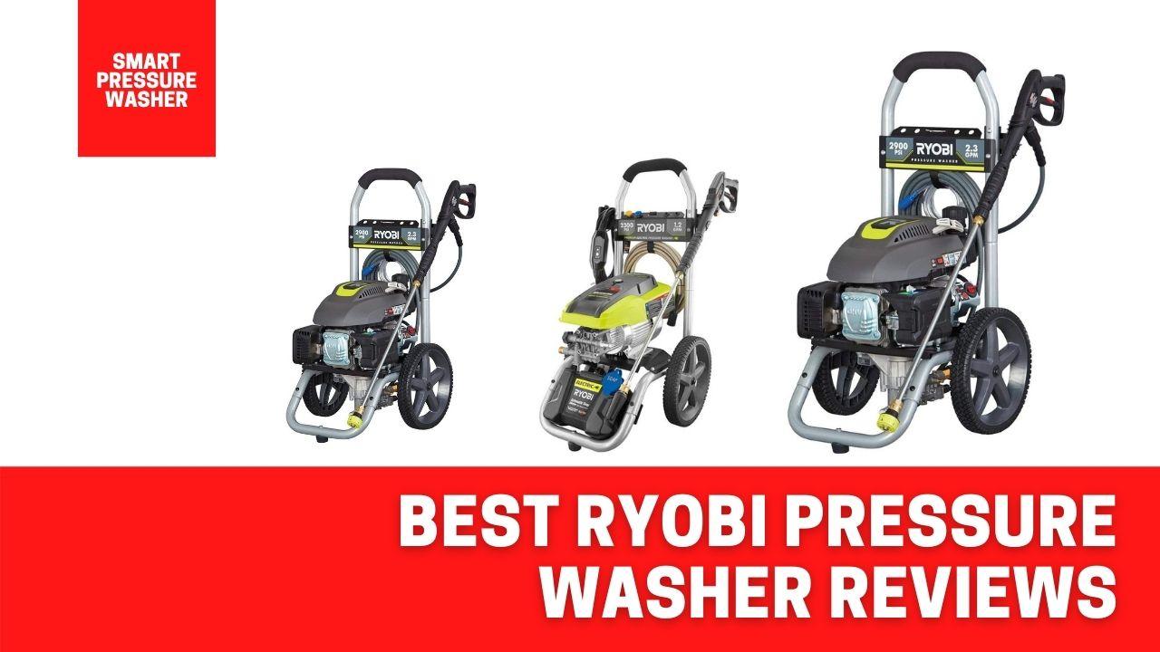 best ryobi pressure washer