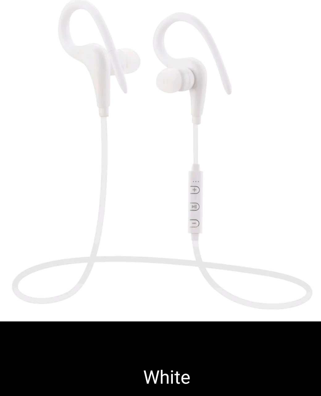 Sports Earphone with Mic Remote Control Bluetooth 4.0