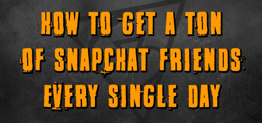 get snapchat friends