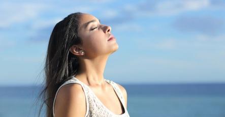 breathe deep to help anxiety