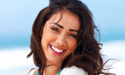 happy smiling person