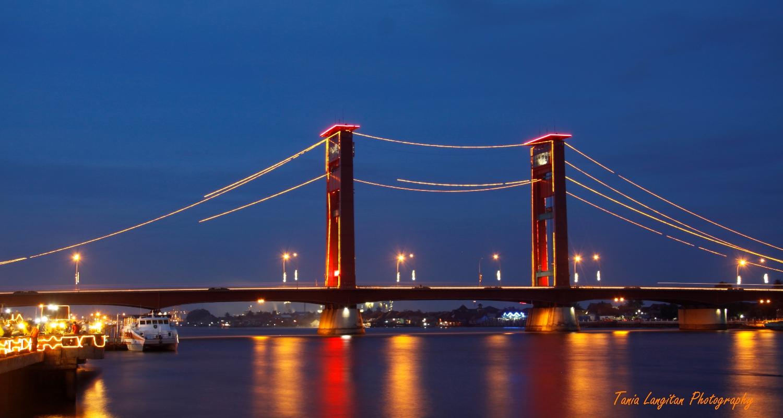 Ampera Bridge  South Sumatera Indonesia  A SMART Traveller
