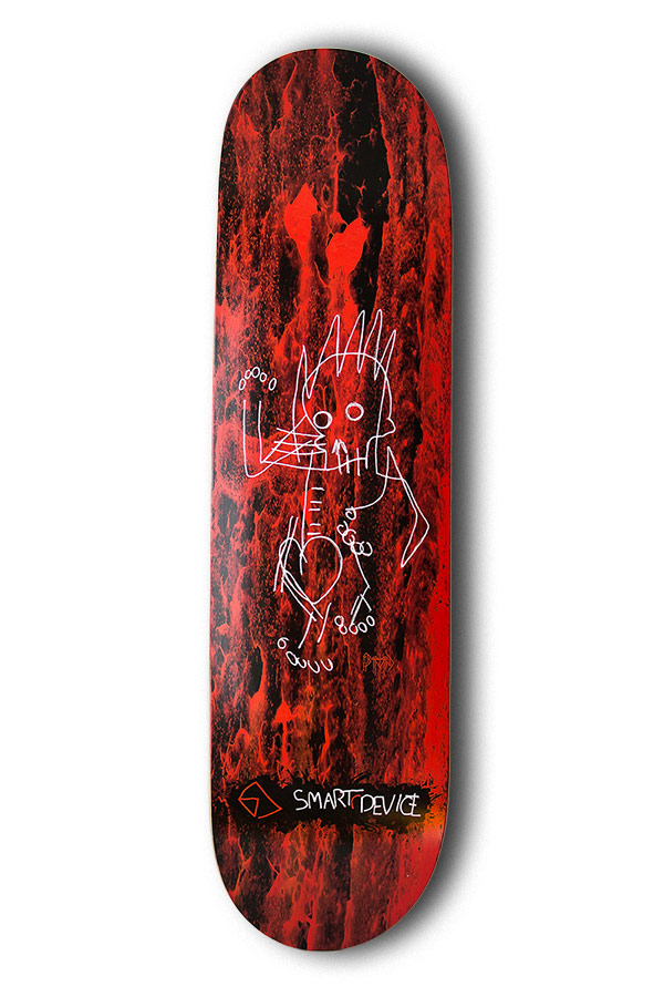 Geff Bartrand Artist Skateboard