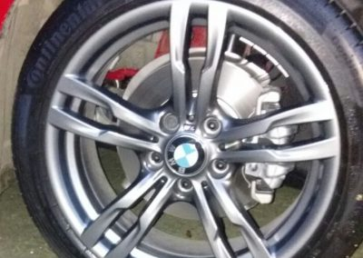 BMW Wheel Repair After