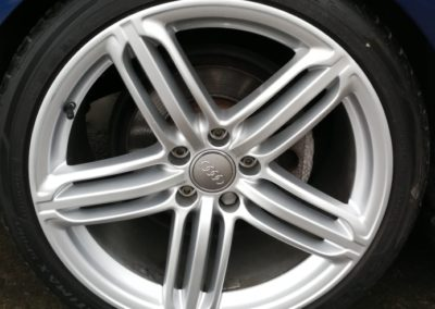 Audi Silver Wheel Repair Image