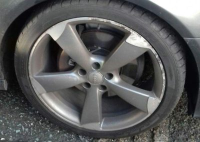 Audi Wheel Repair Before Image