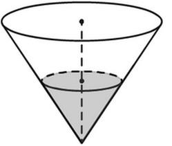 Задача 13 (№ 1705) - В сосуде, имеющем форму конуса