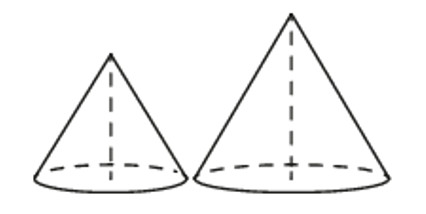 Задача 16 - Даны два конуса