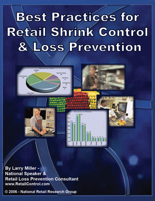 Best Practices for Retail Shrink Control and Loss Prevention Guide Graphic