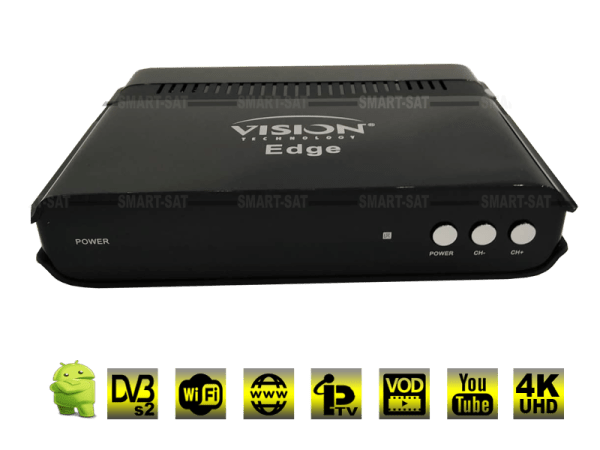 VISION EDGE 4K Android Tv