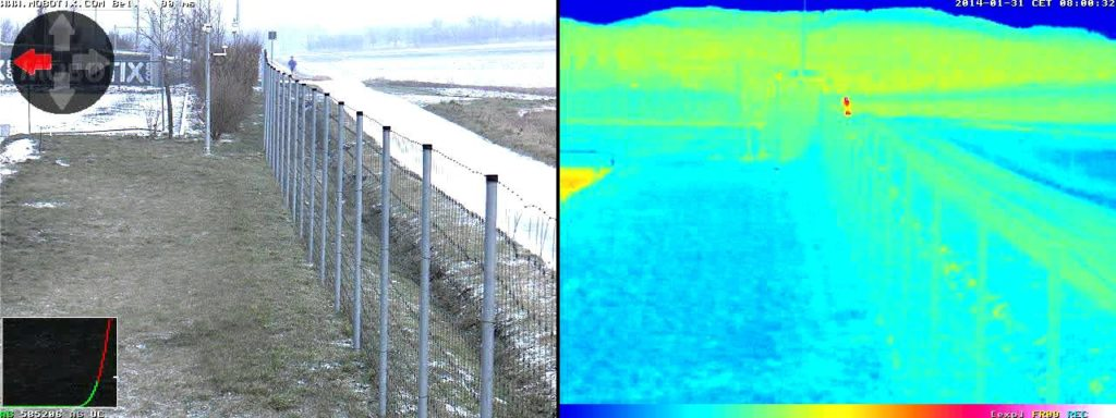 site security with thermal imaging