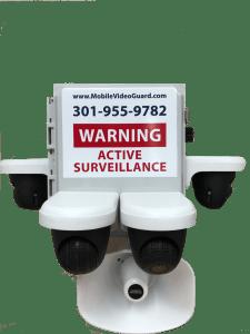 Video Surveillance Trailer | SMART Security Mobile Video Guard