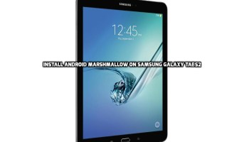Update Samsung Tab A To Marshmallow