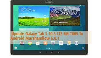 Guide to Install Android Marshmallow on Galaxy Tab S 8 4 SM