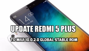 How to Guide] Update Redmi 5 Plus to MIUI 9 5 12 0 Global Stable ROM