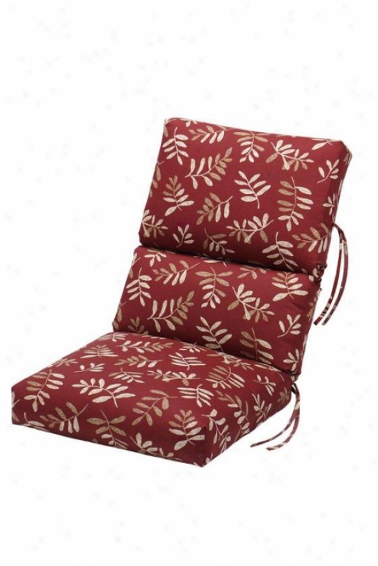 high back lawn chair cushions folding for child how to recover outdoor – pads &