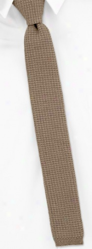 Taupe by Orsini tan/taupe cotton knit ties @ Ties @ Smart ...