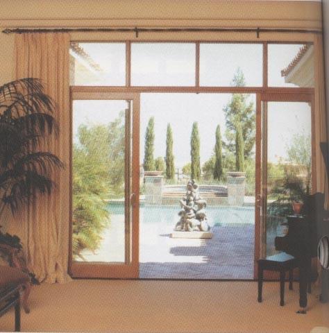 telescoping sliding patio doors