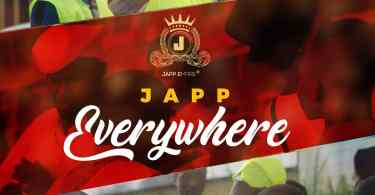 Japp everywhere official art