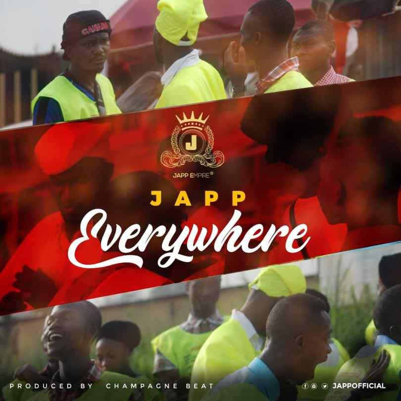 Japp everywhere official art