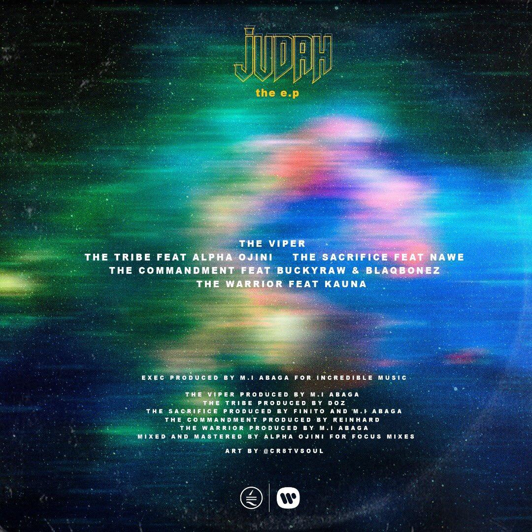 Judah The EP cover art