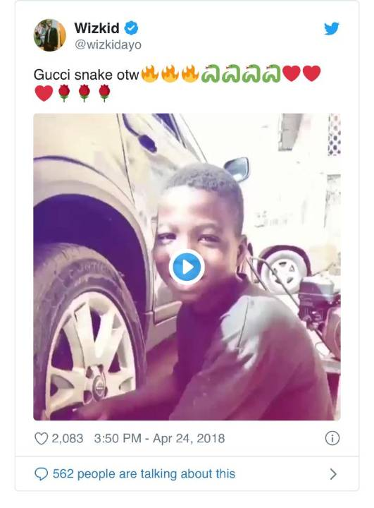 See The Recent Photos Of The Mechanic Boy Wizkid Sent To School 2 Years Ago 2