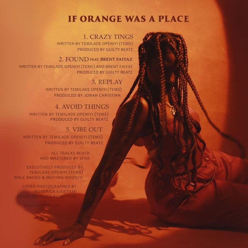 Tems – If Orange Was A Place EP