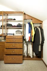 Walk in closet, custom closet, small space experts, SmartSpaces.com