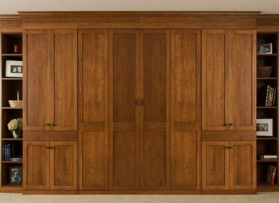 Custom Murphy Bed Cabinet Maker