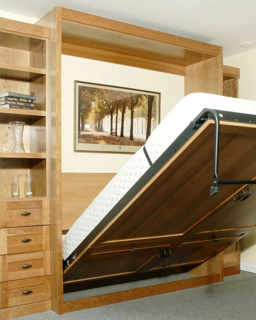 laminate-murphy-bed-with-drawers-shelves-03