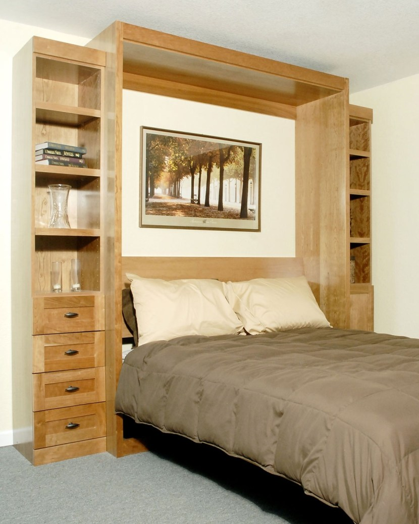 laminate-murphy-bed-with-drawers-shelves-04