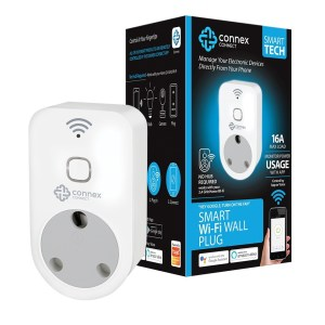 Connex Connect Smart 3 Pin Wall Plug