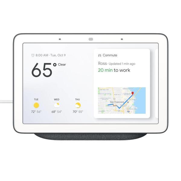 Google Nest Home Hub Charcoal 1