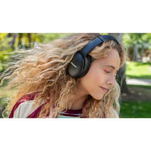 Bose QuietComfort 45 Noise-Canceling Wireless Over-Ear Headphones Triple Black 6