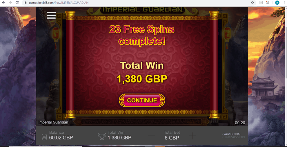 Huge Casino Win