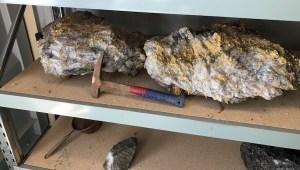 RNC Minerals 95 kg specimen stone from Beta Hunt mine