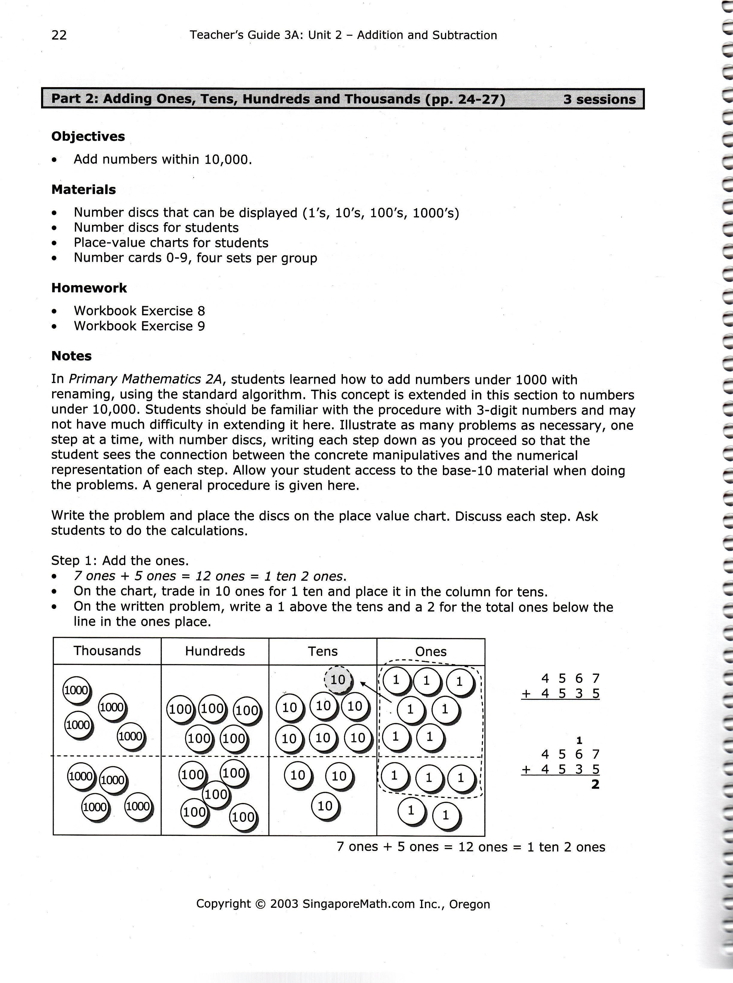 Preschool Worksheet Gallery Singapore Math Kindergarten