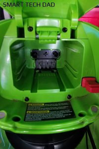 How To Use Greenworks Batteries In Kobalt Tools - Greenworks mower battery bay guide rails
