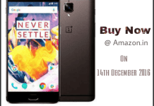 Oneplus 3T Buy Now