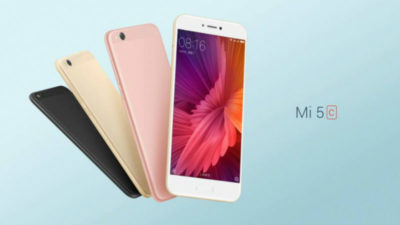 Xiaomi Mi 5c Price & Availability