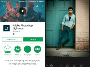 Adobe PhotoShop Lightroom - Best Photo Editing Apps For Android 2017