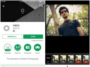 VSCO - Best Photo Editing Apps For Android 2017