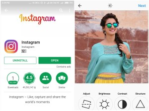Instagram - Best Photo Editing Apps For Android 2017