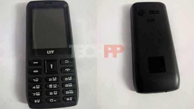 Jio rs 500 mobile phone or feature phone final images launched