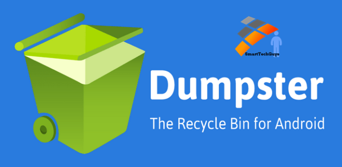 dumpster app recover android photos